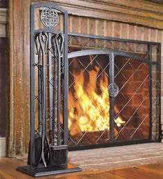Celtic knot hearth tools add style, funtion to the hearth. Add Celtic home decor to your hearth with our Celtic hearth tools featuring decorative iron stand. Fireplace Tools, Fireplace Screens, Decor, Tool Set, Fireplace Accessories, Insulated Curtains, Hearth, Fireplace, Fireplace Tool Set