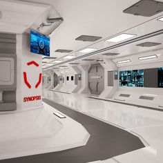 Discover recipes, home ideas, style inspiration and other ideas to try. Spaceship Interior, Futuristic Interior, Spaceship Design, Spaceship Concept, Futuristic Architecture, Futuristic City, Concept Ships, Minimalist Architecture, Futuristic Design