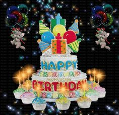 Many blessing to you on your birthday! Elvis Presley's Birthday, Happy Birthday Cousin, Happy Birthday Video, Happy Birthday Pictures, Happy Birthday Quotes, Happy Birthday Greetings, Birthday Wishes Gif, Birthday Pins, Kids Birthday Cards