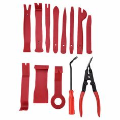 4x Professional Pry Tool Kit Set Interior Trim Panel Removal Tool for MASERATI