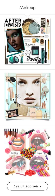 """Makeup"" by iseethelight ❤ liked on Polyvore featuring beauty, Burberry, TheBalm, Sisley Paris, Stargazer, MAC Cosmetics, Urban Decay, NARS Cosmetics, Jacki Design and Chantecaille"