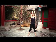 5 Element Qigong Practice for Fire (heart, small intestine, pericardium, triple heater) - YouTube