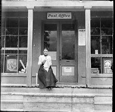 Woman post office