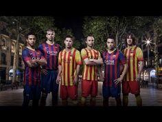 FC Barcelona - Las nuevas equipaciones para la temporada 2013/14