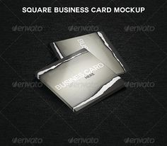 "Square Business Card MockUp  #GraphicRiver         Square Business Card MockUp  	 Clean and easy to use Business Card Mockup. All you have to do is to ""Edit content"" and paste your design in smart objects.   	 300 DPI Smart objects Fully Customizable Easy to use Fully Layered     Created: 27August13 GraphicsFilesIncluded: PhotoshopPSD HighResolution: Yes Layered: Yes MinimumAdobeCSVersion: CS PixelDimensions: 4x4 Tags: business #card #mockup #psd #square"