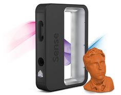 Sense Capture your world in 3D  Capture your world in 3D and discover the power of physical photography with the Sense 3D scanner. Savor every dimension of your favorite memories: Graduation day. Wedding day. Bringing home baby. Holidays. Trips around the world. All with your Sense, all in 3D.