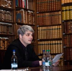 i really like books. libraries are also cool, except not the one in my town, because most of the books have ketchup stains on them. or maybe it's blood... hmm i never thought of that before.