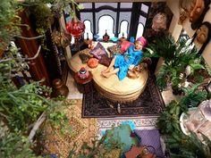 Bohemian Garden room interior