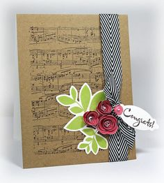 """I think I'll use this for my """"mommy poem"""" in baby girls room : ) Beautiful  @ Paper Crafts Connection"""