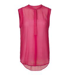Gaine1 Sleeveless Sheer Shirt
