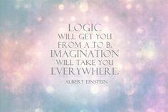 logic vs. imagination