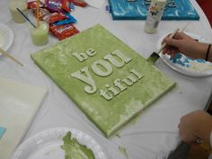 We had our Young Women In Excellence Evening last night. It turned out great. Our Young Women president did a fantastic job! The theme . New Beginnings Young Women, Yw In Excellence, Girls Night Crafts, Young Women Activities, Time Of Our Lives, Personal Progress, Young Life, Girls Camp, Camping Crafts
