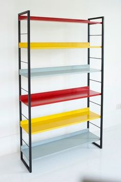 Rare Tomado Bookcase shelving mid century retro modernist eames robin day prouve | eBay