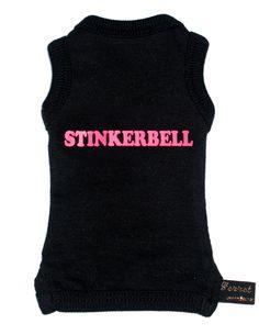 $20 'Stinkerbell' Black Ferret T-Shirt