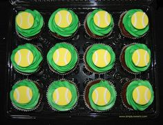 17 Best ideas about Tennis Cupcakes on Pinterest | Tennis cake ...