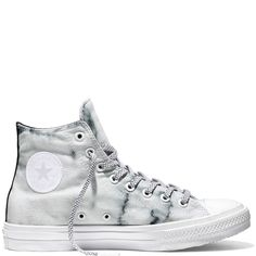 Chuck Taylor All Star II Marble Blanc/Noir/Blanc white/black/white