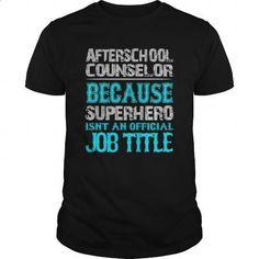 Afterschool Counselor Shirt #shirt #Tshirt. BUY NOW => https://www.sunfrog.com/Jobs/Afterschool-Counselor-Shirt-Black-Guys.html?id=60505