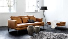 Looking for designer furniture stores in Australia? BoConcept Australia offers modern living, dining and bedroom furniture with the latest Scandinavian designs. Sofa Design, Canapé Design, Furniture Design, Boconcept Sofa, Tan Leather Sofas, Best Leather Sofa, Brown Leather, Leather Furniture, Tan Sofa