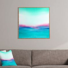 DENY Designs In Your Dreams by Laura Trevey Framed Painting Print