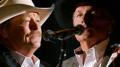 George Strait ft. Alan Jackson - He Stopped Loving Her Today (George Jones Tribute)