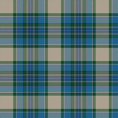 Information from The Scottish Register of Tartans #Tiree #Turquoise #Tartan