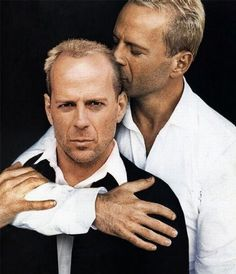 Narcissism a la Bruce Willis...