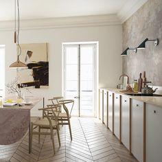 A place to cook, eat, discuss, argue and laugh -kitchens needn't be laboratories. #helsingo #interior #interiordesign #architecture #decor #homedecor #kitchendesign #kitchen #scandinaviandesign #ikea #ikeakitchen #feelslikesunday #ikeakök #scandinavianhome #decoration #keittiöt #köksluckor #kök
