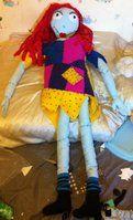 life-size Sally plush