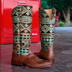 Anderson Bean Tobacco Intimidation Square Toe Boots