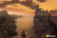 Palace Swallow's Nest, Yalta, Ukraine - Looks like a scene from Game of Thrones.