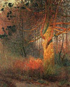 Un arbre au soleil - Emile Claus