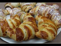 Französische croissants Rezept I Einfaches croissants Rezept I Butter croissants  wie beim Bäcker - YouTube