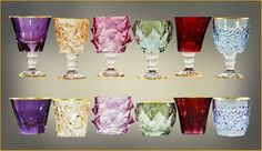 Fabulous coloured glassware
