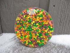 Nerds Candy Coaster Craft Tutorial