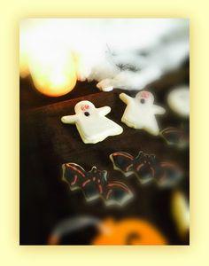 Cupcakes para todos: Halloween III: Galletas de mantequilla con glasa