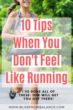 What motivates you to go out and run? We all have our days. Here are 10 tips, from quotes to games, that will inspire you to get out and run even if you really aren't feeling like it. #runningmotivation #runningtips Running Tips Beginner, Running Guide, Running Training, Outdoor Running Workouts, Running Routine, Lose Weight, Weight Loss, Half Marathon Training, Running Motivation