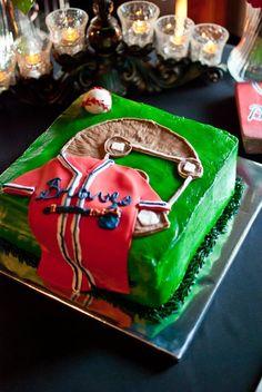 Atlanta Braves Grooms Cake.