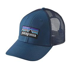 ec8c24ff69e The post PATAGONIA P-6 LOGO LOPRO TRUCKER HAT GLASS BLUE ONE-SIZE appeared