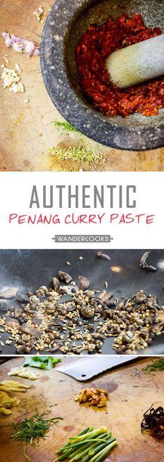 Thai Recipes, Curry Recipes, Indian Food Recipes, Asian Recipes, Cooking Recipes, Asian Foods, Turkish Recipes, Panang Curry Paste, Thai Curry Paste