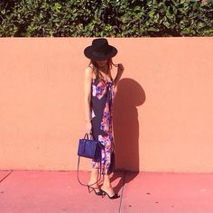 Bridget Bahl in Clover Canyon's Resort 2015 Collection Spanish Shawl Tie Knot Dress