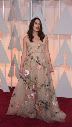 Oscars gown Kiera knightly