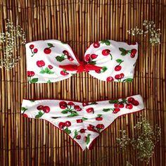 Barato Estilo verão maiô bikini push up acolchoado bandage swimsuit vermelho trajes de banho biquini brasileiro, Compro Qualidade Biquinis ajustados diretamente de fornecedores da China: