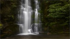 McLean falls - McLean falls, located on the Tautuku River in Catlins. Consists of 2 waterfalls, lower and upper; both of them are easy accessible. It's one of the must see New Zealand Waterfalls.