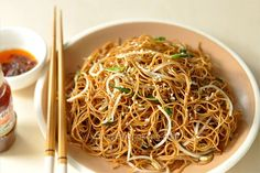 Soy Sauce Fried Noodles aka Chow Mein | Hong Kong Food Blog with Recipes, Cooking Tips mostly of Chinese and Asian styles | Taste Hong Kong