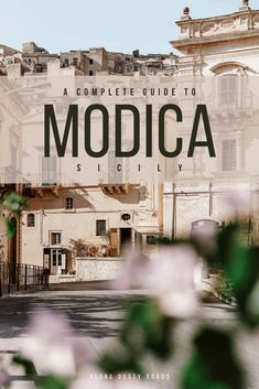 Whether you love Baroque buildings, want to try Sicily's best chocolate or simply get lost amongst its winding alleys, Modica is sure to impress. This is our guide to the best things to do in Modica, where to eat and the best hotels. #Modica #Sicily #Italy #RoadTrip #ExploreSicily #ModicaPhotography #Noto