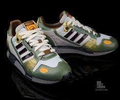 Adidas Boba Fett Sneakers: There'S a Steep Bounty on These Shoes
