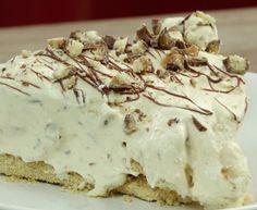 Sernik Twix bez pieczenia Macarons, Pie, Pudding, Torte, Cake, Fruit Cakes, Custard Pudding, Macaroons, Pies