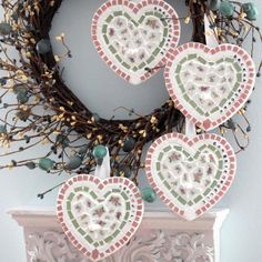With a Grateful Prayer and a Thankful Heart: Mosaic Hearts for Mosaic Monday