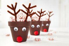 82435 Clay Pot Reindeer - November Kids Club