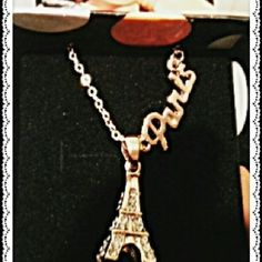 Gold diamante necklace